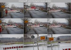 Brücke über die Weser Richtung Anemolter